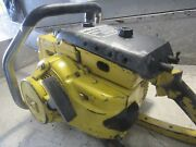 Vintage Collectible Mcculloch Super 250 Chainsaw With 36 Bar