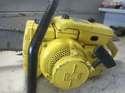 Vintage Collectible Mcculloch 250 Chainsaw With 24 Bar