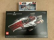 Lego Star Wars A-wing Starfighter 75275 And Death Star Ii Battle 40407 Sets New