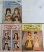 3 Hazel Ulseth Antique Doll Clothes Pattern Books Costume Cameos 3 4 And 5