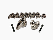 Chevrolet Gen Iii Iv Ls Rocker Arms Set W/ Ams Racing Bronze Trunion Kit And Bolts
