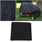 Lawn Tractor Mower Cover Guard Tractor With Drawstring For Yard Garden