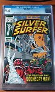 Silver Surfer 13 Cgc 9.4 White Pages Doomsday Man 🔥 🔑