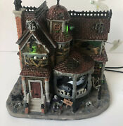 Last House On The Left - 2013 Lemax Spooky Town - Retired - Excellent Used Cond.