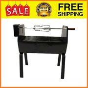 Charcoal Portable Rotisserie Bbq Grill Succulent Rotisserie Cooking