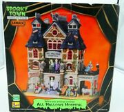 Lemax Spooky Town Halloween All Hallows Hospital Musical Works Great Condition