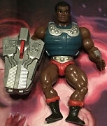 Vintage 80s Clamp Champ 100 Complete He-man Masters Of The Universe Motu Mattel