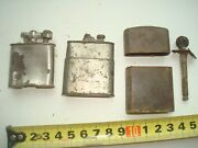 Ww2 Lighters From A German Bunker, 3 Pieces Wwii