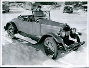 1955 Ad Colwell Automobile Buick Transportation Snowy Covered Ground Photo 8x10