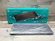 Logitech Mk360 Wireless K360 Compact Black Keyboard And Receiver - No Mouse