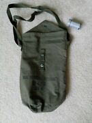 Vintage 1940and039s Military Cd V-800 Mask Size 6 Bag With Anti- Dim Cloth