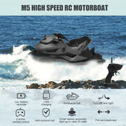 Rc Motorboat Rc Boat High Speed Boat For Pools Lakes 2.4ghz X6j6