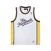 The Hundreds Drills Tank Top Jersey White Menand039s Athletic Tee
