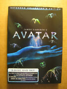 Avatar - 3-disc Extended Collectors Edition 2010 Dvd James Cameron