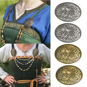 4sets Retro Viking Brooch Sweden Amulet Wiccan Nordic Cloak Pins Jewelry