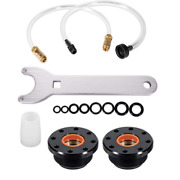 Front Mount Hydraulic Steering Cylinder Seal Kit And Bleed Kit For Seastar Hs5157
