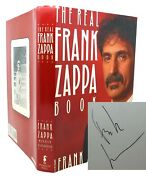 Frank Zappa The Real Book Signed 1st Edition 1st Printing