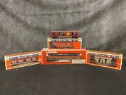 Lot Of Vintage Lionel Electric Model Trains And Paint Vat Cars With Boxes