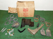 1955 1956 Ford Custom Victoria Fairlane Sunliner Nos Dual Exhaust Adapter Kit