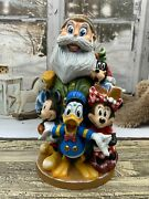 14 Santa Claus Decor Wooden Figurine Unique Carving Handmade Limited Collection