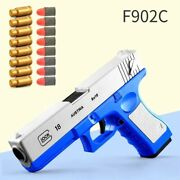 Glock And M1911 Pistol Ejection Shell Darts Bullets Outdoor Toys Gun Handgun Toy S