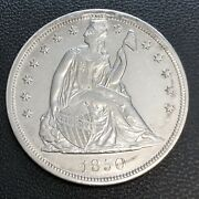 1850 P Seated Liberty One Dollar 1 Extremely Rare High Grade Unc Details 33556