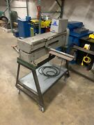 Used Wilder 20 Gauge Sheet Metal Slitter With Stand Later Model
