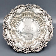Antique American Sterling Silver Serving Bowl Bailey Banks And Biddle Fruits Bread