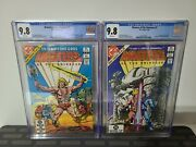 Cgc 9.8 Lot Of 2 Masters Of The Universe 1 And 2 Dc 82/83 White Pages Rare