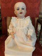 """23"""" K And R 728/11 Celluloid And Composition German Character Baby Doll"""