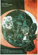 Original Vintage Poster Art And Antiques Expo Bern 1968