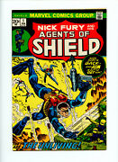 Shield Nick Fury And His Agents Of Shield 1 1973 Vf