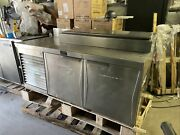 """Randell 68"""" Used Commercial Pizza Prep Table Cooler"""