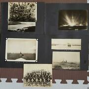 Imperial Japanese Navy Army Old Photo Album 1932-1934 Military Antique Japan