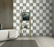 3d Marble Grid Zhu019 Texture Tiles Marble Wallpaper Wall Mural Removable Zoe