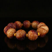A Fine Collection Of Chinese Antique Chunqiu Period Jade Carved Bead Bracelets