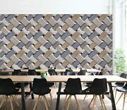 3d Gray Wood Zhu043 Texture Tiles Marble Wallpaper Wall Mural Removable Zoe