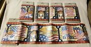 Lot Of 5 Home Trends Stars And Stripes 5 Yards Each Wallpaper Border Susan Winget