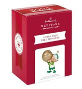 Hallmark 2021 North Pole Tree Trimmers Ornamentkoc Exclusivesold Out In Hand