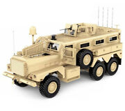Hg-p602 1/12 6x6 Rc Military Cougar Artr W/2.4ghz Remote Sound And Light Upgrades