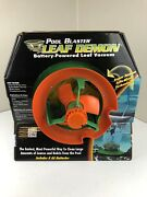 Water Tech Battery Powered Leaf Vac Pool Cleaner 11a0050 Leaf Demon New