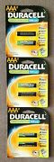 Duracell 6 Rechargeable Aaa Size Batteries 1000 Mah Nimh 1.2v Dc2400 Hr03 B2