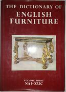 Dictionary Of English Furniture By Ralph Edwards 1983 Limited Edition 202/500 V3