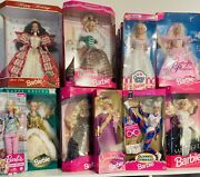 Huge Mattel Barbie Doll Lot 90's And 2000's All Brand New In Boxes Over 40 Dolls
