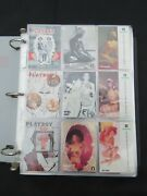 1993 Playboy Collector Trading Card Set 40th January 120 + 3 + 6 Cards 129 Fn