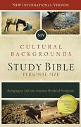 Niv Cultural Backgrounds Study Bible/personal Size-hardcover