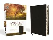 Amplified Holy Bible Revised-black Bonded Leather Indexed