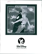 Photo Actor Walt Disney Records Read And Sing Along Peter Pan Soundtrack 8x10