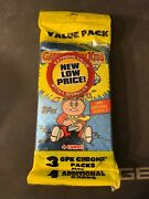 2014 Topps Gpk Garbage Pail Kids Chrome 1985 Series 2 Value Pack Trading Card