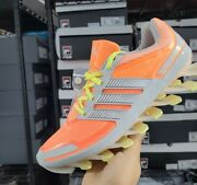 Adidas Springblade Womenand039s Running Shoes Orange And Silver Size 9 Us